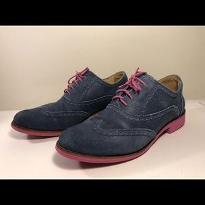 Cole Haan Alisa leather Oxford lace-up shoes